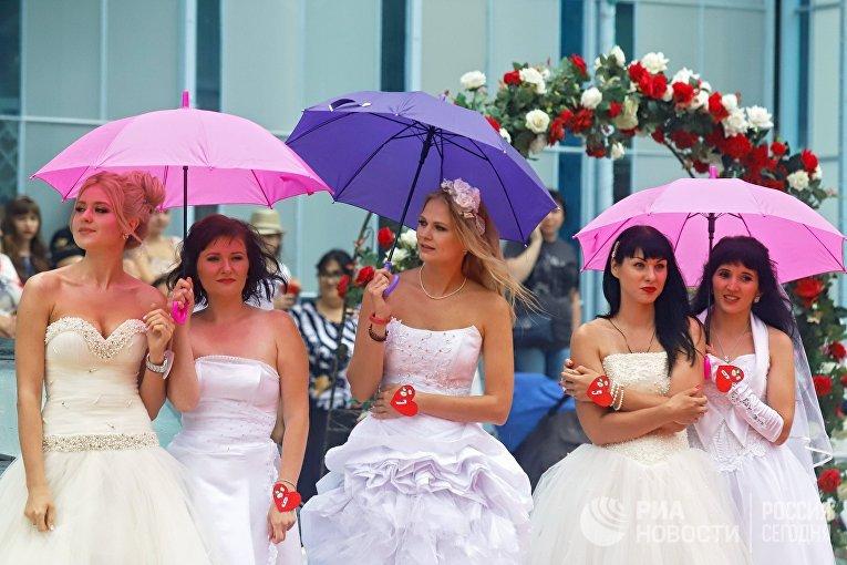 Забег невест в Железноводске
