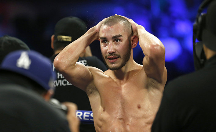 Российский боксёр Максим Дадашев