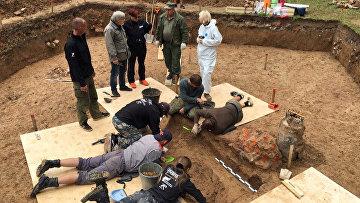 9 июля 2019. Под Смоленском нашли останки наполеоновского генерала Шарля Гюдена