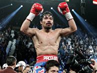 Филиппинский боксер Мэнни Пакьяо