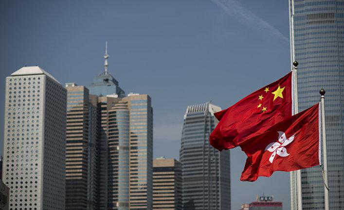 Акции протеста за демократизацию выборов в Гонконге