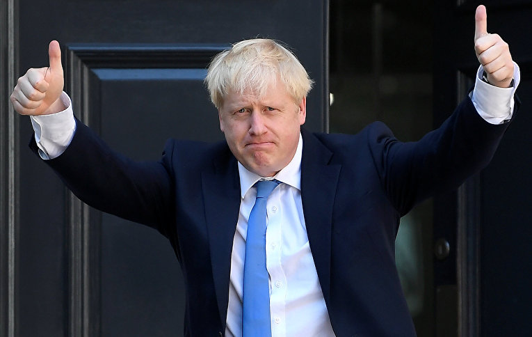Борис Джонсон в Лондоне, Великобритания