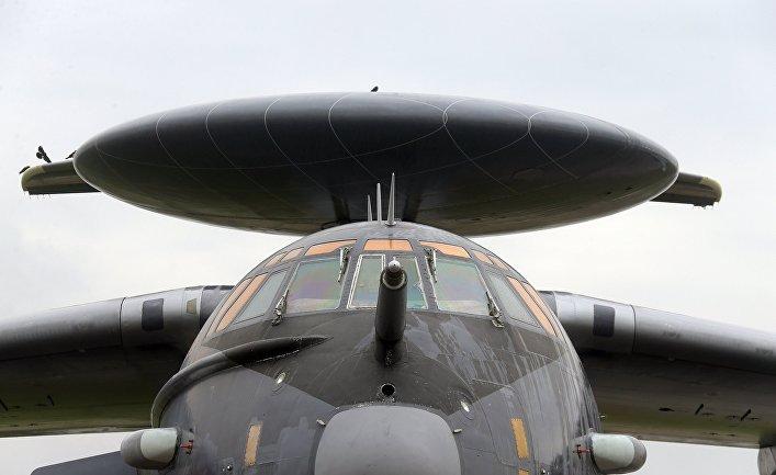 Самолет А-50У дальнего радиолокационного обнаружения и управления