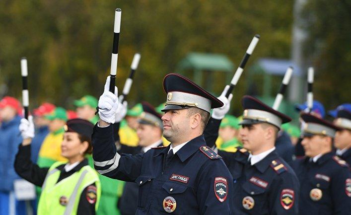 Спортивный праздник столичной полиции