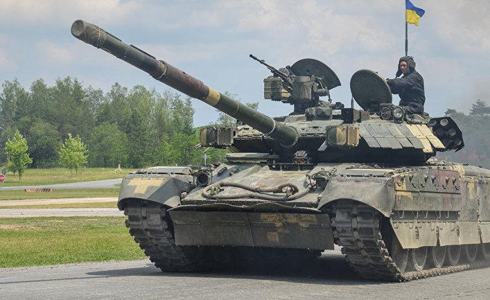 Украинский танк Т-84 «Оплот»