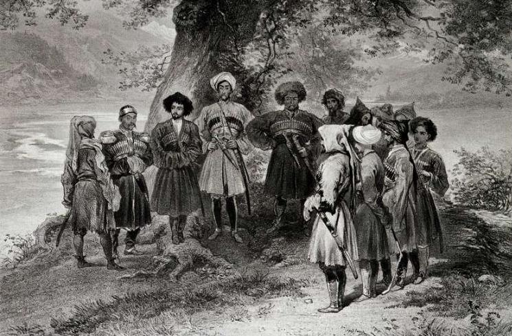 Совещание черкесских князей в 1839—1840-х годах
