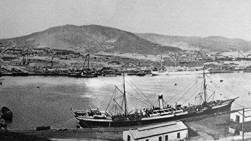Вид на Порт-Артур. 1904 год