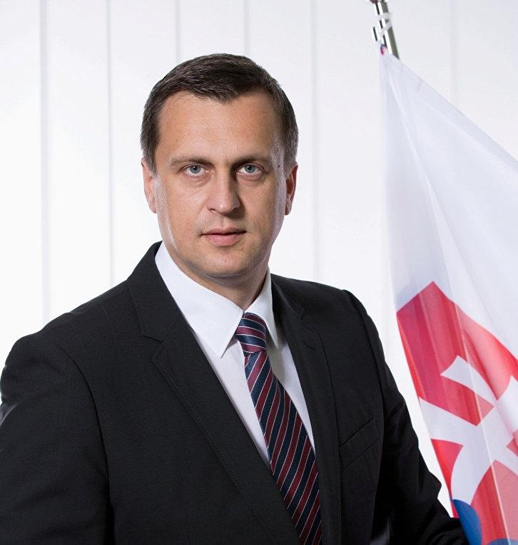Словацкий политик Андрей Данко