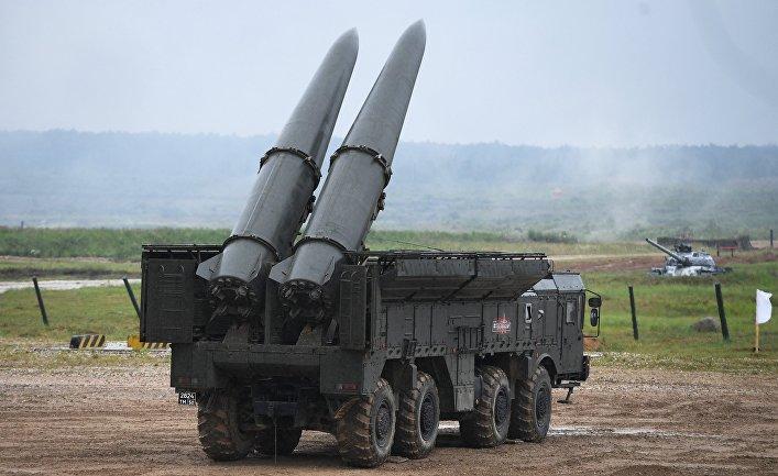 "Самоходная пусковая установка 9П78-1 ""Искандер-М"""