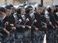 Несанкционированная акция в поддержку незарегистрированных кандидатов в Мосгордуму
