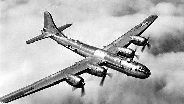 Американский тяжёлый бомбардировщик Boeing B-29 Superfortress