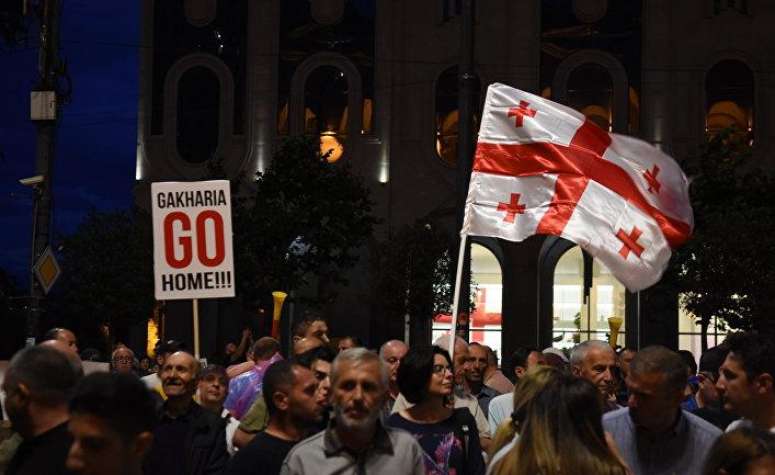 """""""Марш свободы"""" в Тбилиси"""