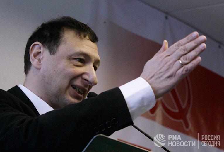 Директор Института глобализации и социальных движений Борис Кагарлицкий