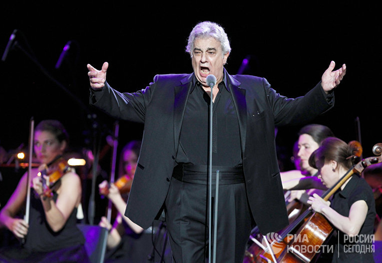 Концерт Пласидо Доминго в Крокус Сити Холле