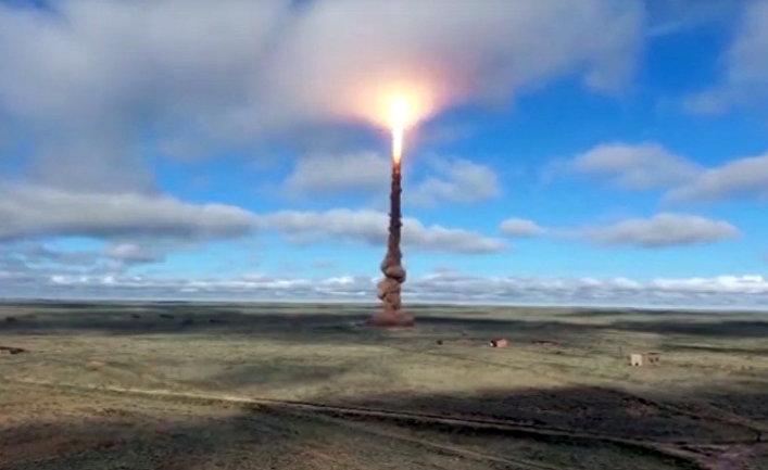 ВКС России провели испытания новой ракеты системы ПРО
