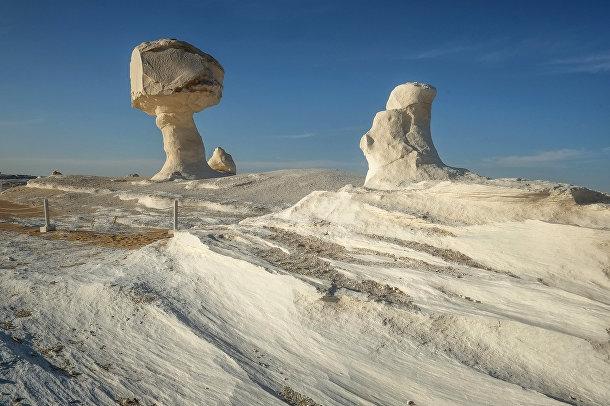 Белая пустыня, Египет