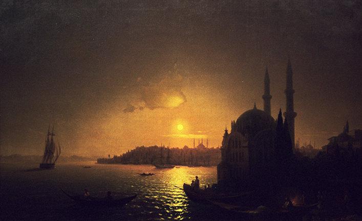 """""""Вид Константинополя при лунном освещении"""""""