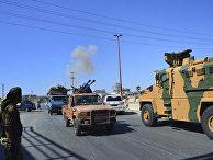 После обстрела турецкого конвоя в Идлибе, Сирия