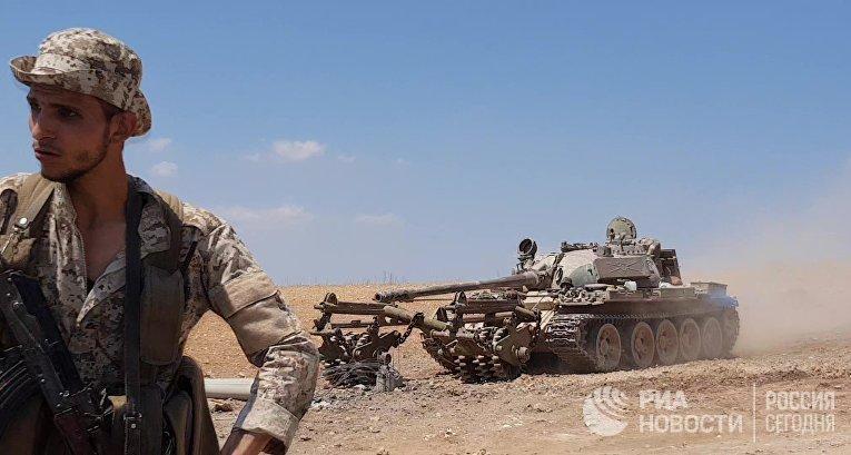 Сирийская армия освободила г. Хан-Шейхун в провинции Идлиб
