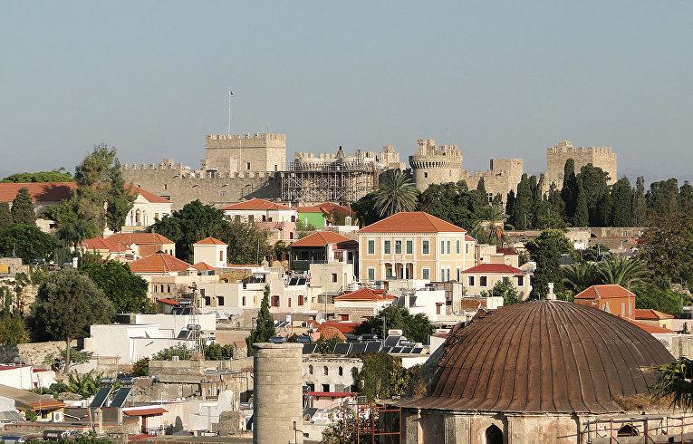 Родосская крепость, Греция