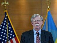 Пресс-конференция советника президента США по нацбезопасности Дж. Болтона