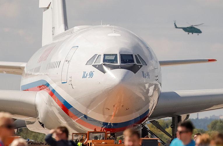 Российский самолет Ил-96