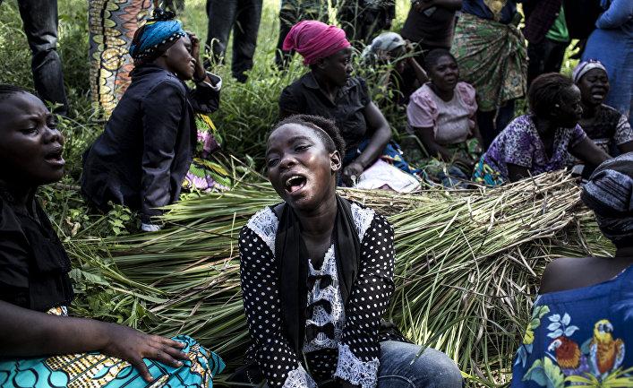 Плачущие женщины, Конго
