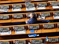 Украинский парламент в Киеве