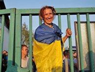 """У пункта пропуска """"Шегени"""" на украинско-польской границе"""