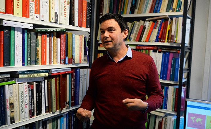 Французский экономист Томас Пикетти