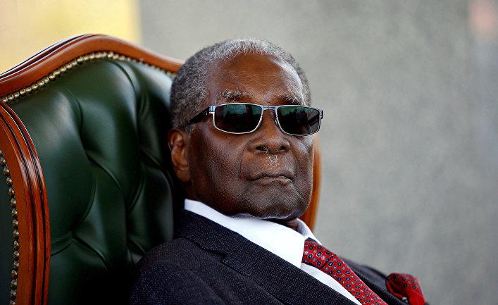 Бывший президент Зимбабве Роберт Мугабе
