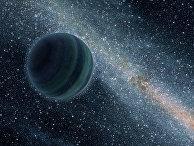 Так художник представляет планету из семейства газовых планет