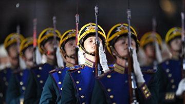 """Церемония открытия фестиваля """"Спасская башня"""""""