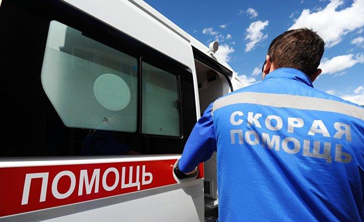 Работа скорой помощи и Центра медицины катастроф в Тамбове