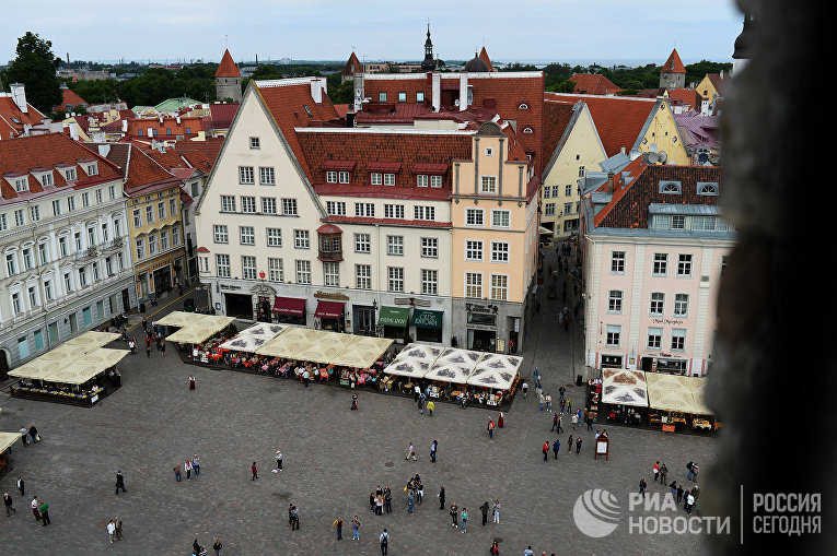 Ратушная площадь в Таллине