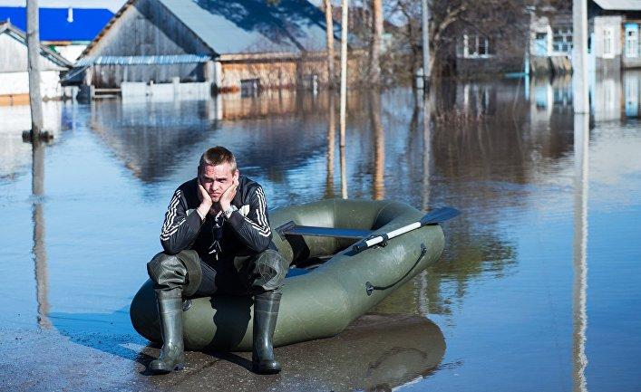 Наводнение в Тюменской области