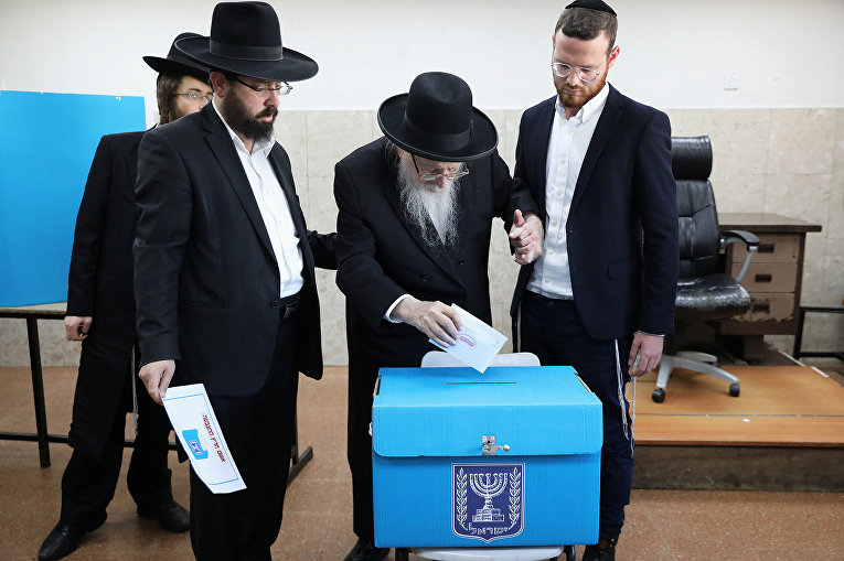 Израильтяне голосуют на парламентских выборах в Иерусалиме
