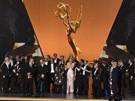 """Актеры и съемочная группа """"Игры престолов"""" на премии Emmy в Лос-Анджелесе"""