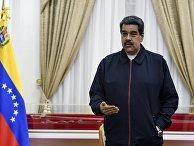 Встреча Н. Мадуро со специальным советником ЕС по Венесуэле Э. Иглесиасом