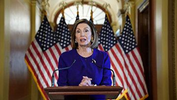 Спикер Палаты представителей США Нэнси Пелоси в Вашингтоне