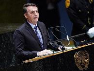 Президент Бразилии Жаир Больсонаро