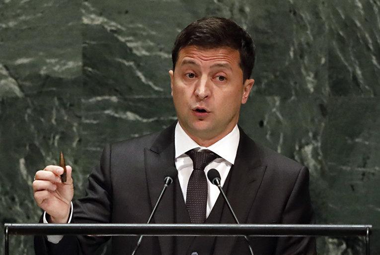 Зеленский солгал в ООН: пуля оказалась не той
