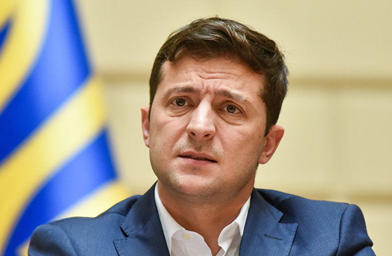 Рабочая поездка президента Украины В. Зеленского во Львов