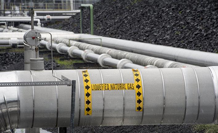 Газовый терминал в США