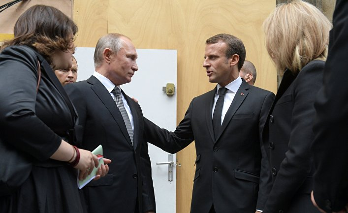 Президент РФ В. Путин прибыл в Париж на церемонию прощания с бывшим президентом Франции Ж. Шираком