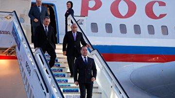 Визит премьер-министра РФ Д. Медведева на Кубу