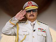Главнокомандующий ливийской армией Халифа Хафтар
