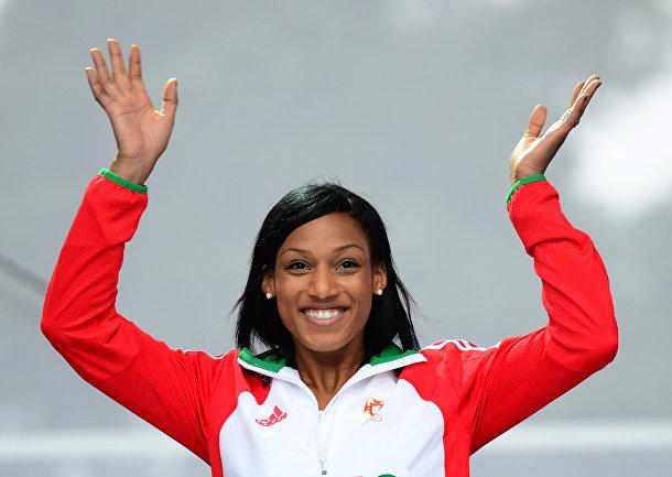 Португальская легкоатлетка, выступающая в тройном прыжке Патрисия Мамона