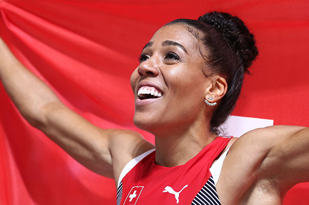 Швейцарская легкоатлетка, специализирующаяся в спринтерском беге Муджинга Камбунджи