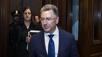 Бывший спецпредставитель по Украине Курт Волкер на Капитолийском холме в Вашингтоне